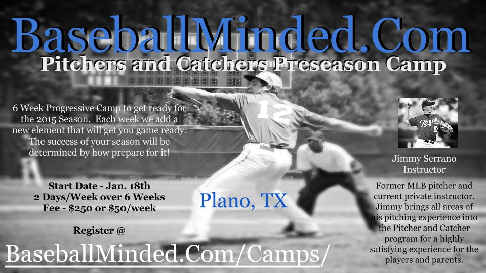 Pitchers and Catchers Camp Flyer - Plano